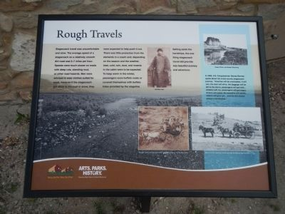 Rough Travels Plaque image. Click for full size.