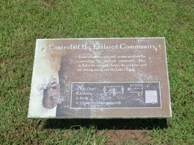 Somerset Place-Control of the Enslaved Community image. Click for full size.