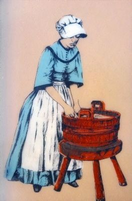 Company Laundress image. Click for full size.