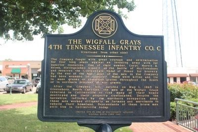 The Wigfall Grays (side 2) image. Click for full size.