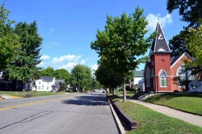 View to north along S. Main Street image. Click for full size.