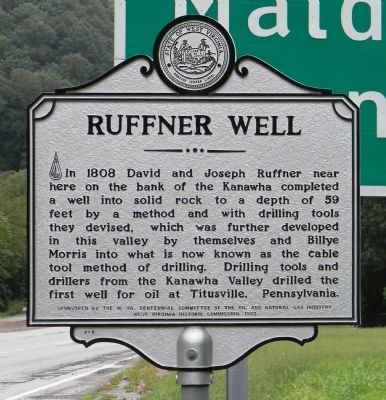 Ruffner Well Marker image. Click for full size.
