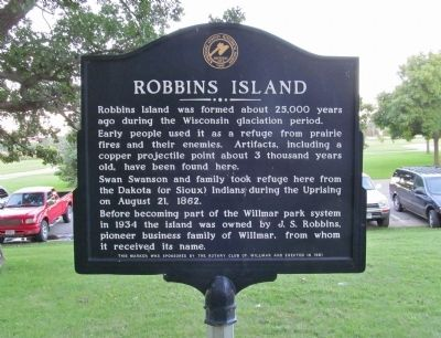 Robbins Island Marker image. Click for full size.