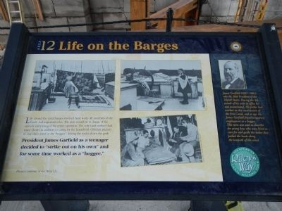 Life on the Barges Marker image. Click for full size.