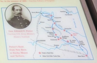 Close up of map on the Black Jack Marker image. Click for full size.