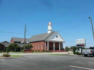 Black Jack Free Will Baptist Church image. Click for full size.
