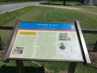 Burney Place Marker image. Click for full size.