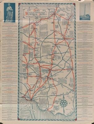 Ohio Revolutionary Memorial Trail Map Photo, Click for full size