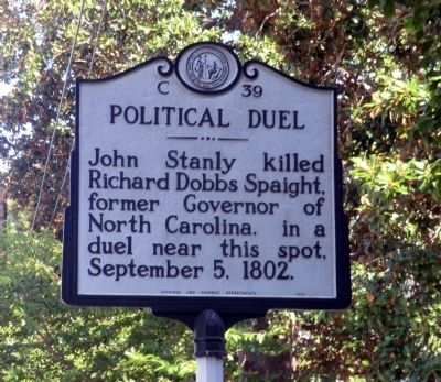 Political Duel Marker image. Click for full size.