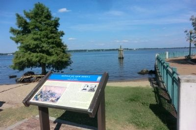 Battle of New Bern Marker image. Click for full size.