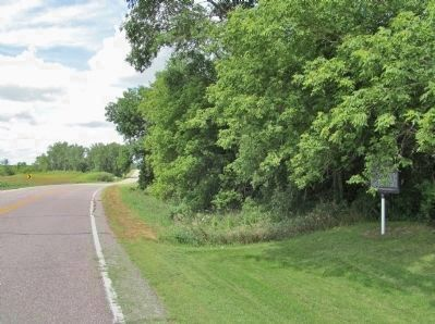 Former Red River Trail and Marker image. Click for full size.