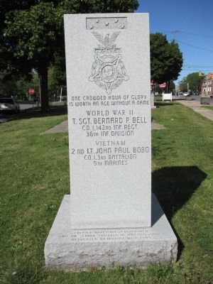 Niagara Falls Medal of Honor Memorial Marker image. Click for full size.