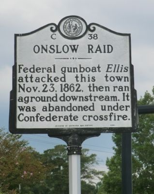Onslow Raid Marker image. Click for full size.