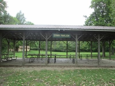 Camp Birch's Erwin Pavilion image. Click for full size.