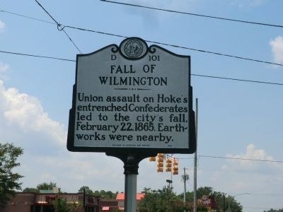 Fall of Wilmington Marker image. Click for full size.