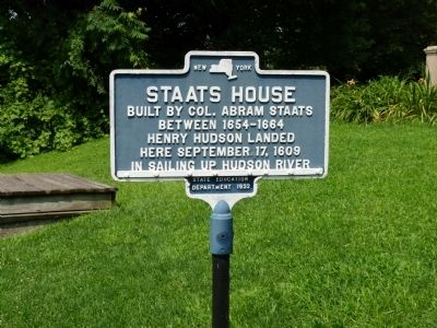 Staats House Marker image. Click for full size.