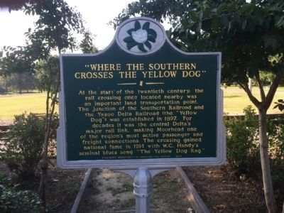 Where The Southern Crosses The Dog Marker image. Click for full size.