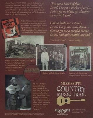 Jimmie Rodgers Marker photos image. Click for full size.