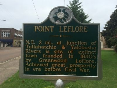 Point LeFlore Marker image. Click for full size.
