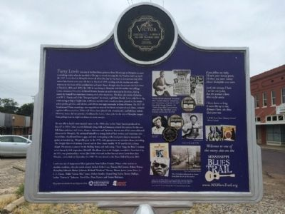 Furry Lewis Marker (Rear) image. Click for full size.