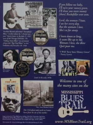 Furry Lewis Marker photos image. Click for full size.