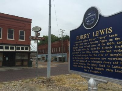 Furry Lewis Marker area image. Click for full size.
