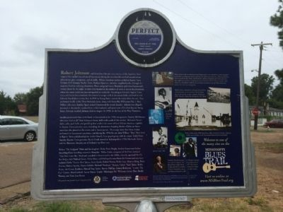 Baptist Town Marker (Rear) image. Click for full size.