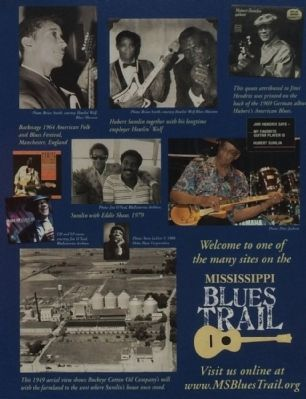Hubert Sumlin Marker photos image. Click for full size.