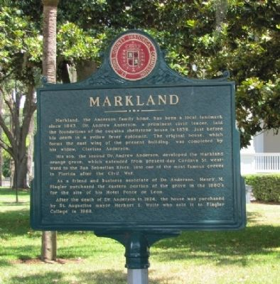 Markland Marker image. Click for full size.