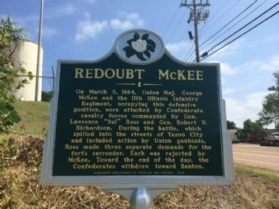 Redoubt McKee Marker image. Click for full size.