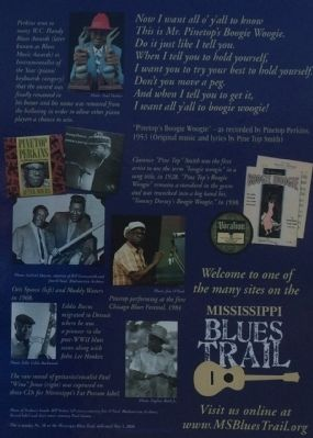 Pinetop Perkins Marker photos image. Click for full size.