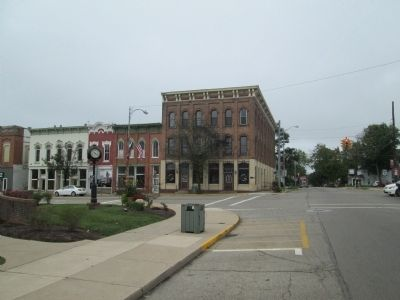 Downtown Mechanicsburg Markers image. Click for full size.