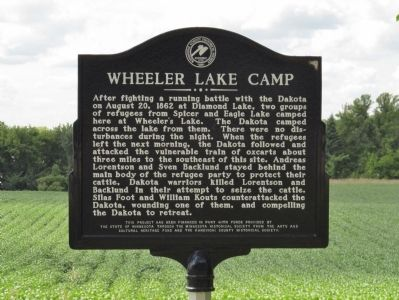 Wheeler Lake Camp Marker image. Click for full size.