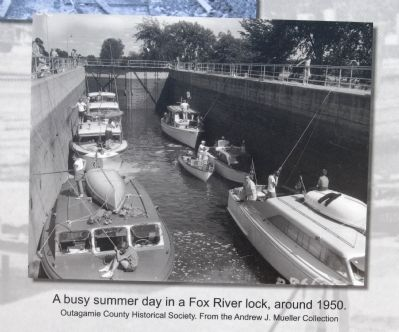 Menasha Lock Marker image. Click for full size.