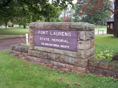 front gate of Fort Laurens image. Click for full size.