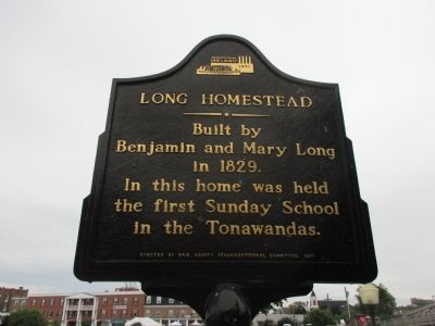 Long Homestead Marker image. Click for full size.