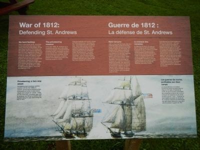 War of 1812: Marker image. Click for full size.