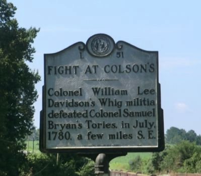 Fight at Colson's Marker image. Click for full size.