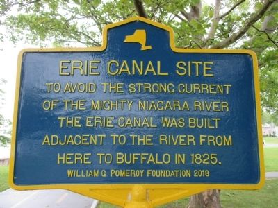 Erie Canal Site Marker image. Click for full size.