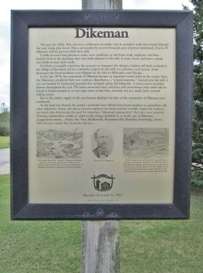 Dikeman Marker image. Click for full size.