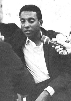 Stokely Carmichael image. Click for full size.
