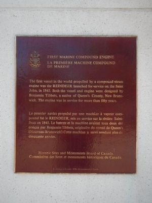 First Marine Compound Engine Marker image. Click for full size.