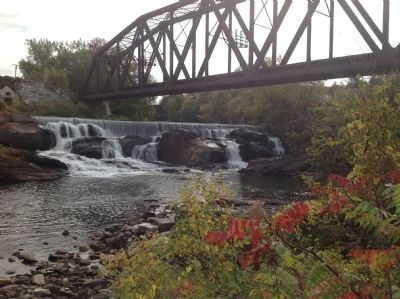 Mead's Falls and the railroad bridge image. Click for full size.