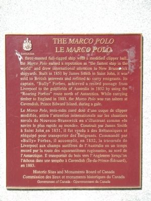 The <i>Marco Polo</i> Marker image. Click for full size.