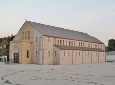 St. Hubert Church image. Click for full size.
