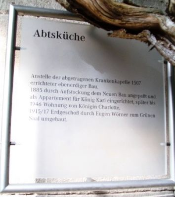 Abtsk�che / Abbot's Kitchen Marker image. Click for full size.
