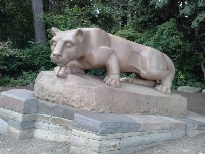 Nittany Lion Shrine image. Click for full size.