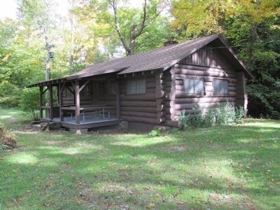 Allegany State Park's Fancher Cabin image. Click for full size.