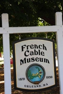 French–Atlantic Cable Company Museum Sign image. Click for full size.
