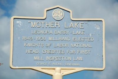 """Mother Lake"" Marker image. Click for full size."
